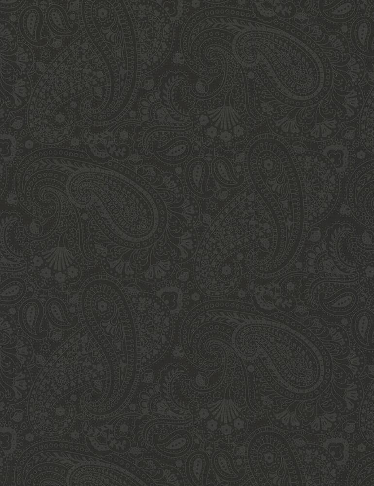 Paisley  Black Hue-C5135-Black
