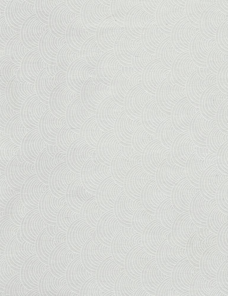 Scallop Waves C5142 White