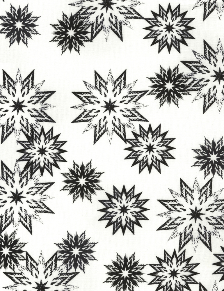 JN-C3706 Piano Snowflake Mix | The Forever Collection by Judy Niemeyer for Timeless Treasures
