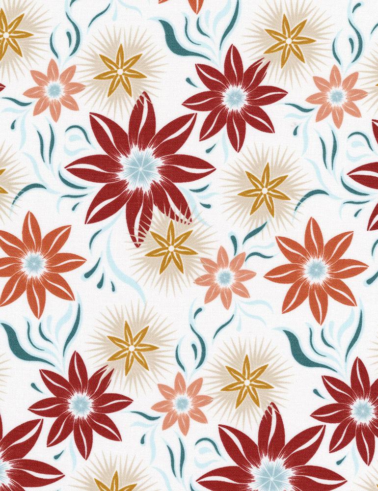 Desert Rose C7413-Des Muted Floral Pattern