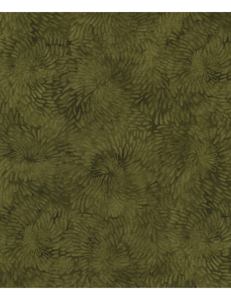 Raindrop Spiral  - Olive