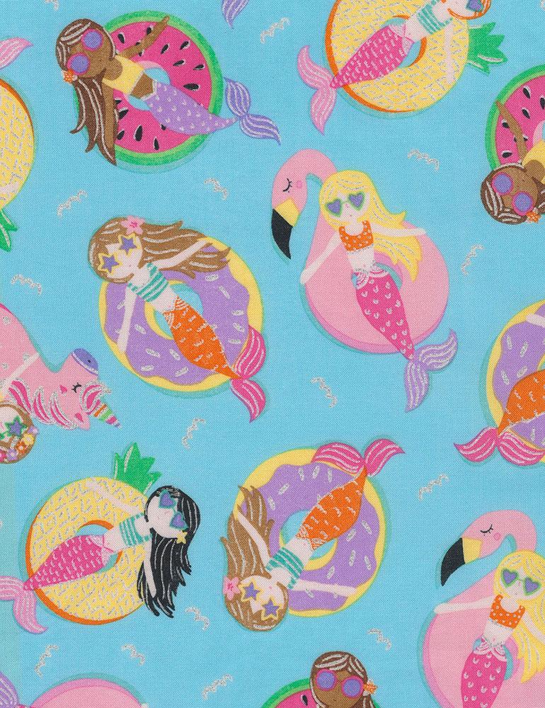 Mermaids on Floats