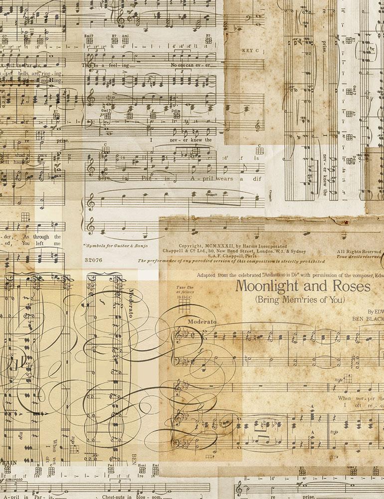 Sheet Music 7308-Antique