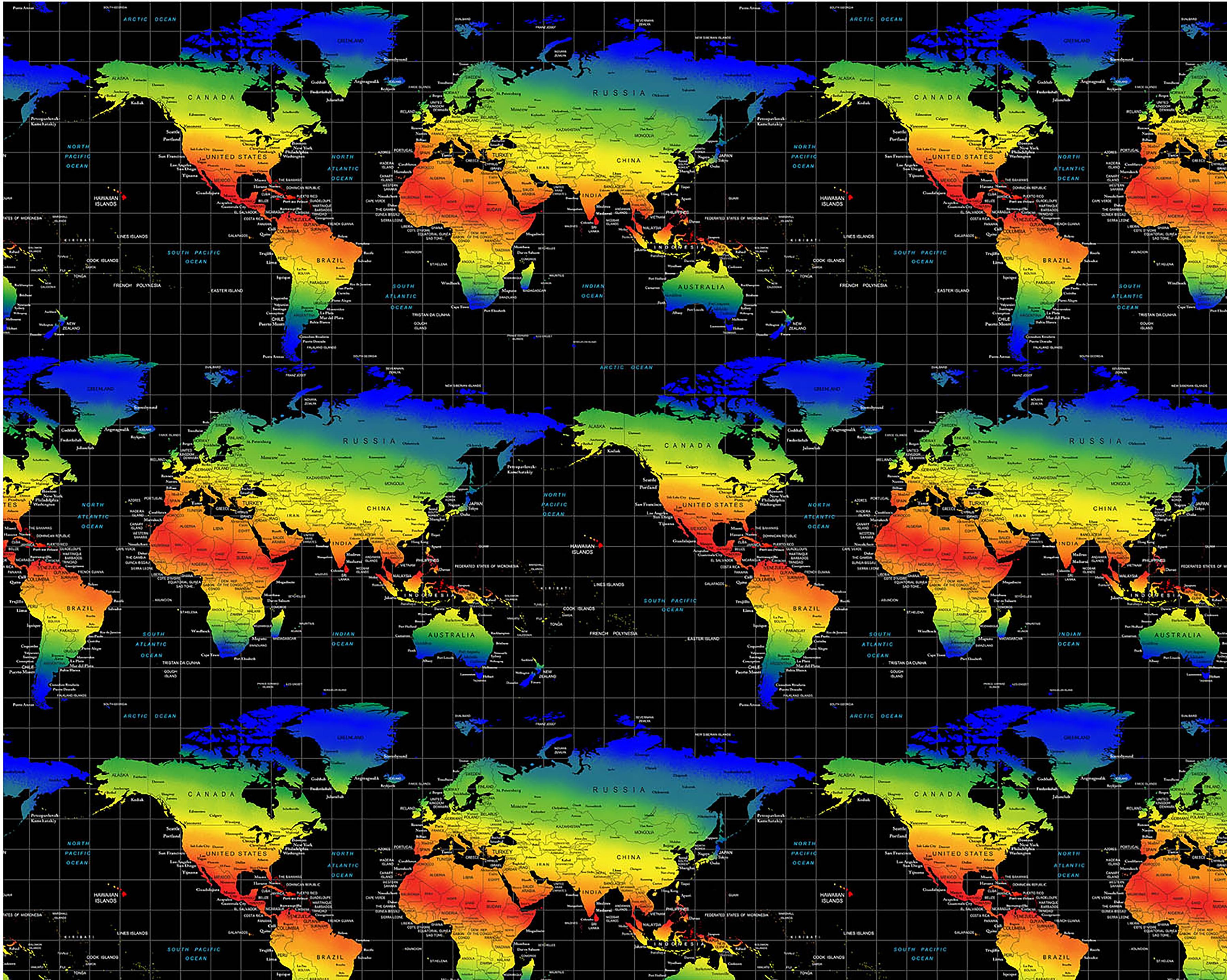 Multi World Map