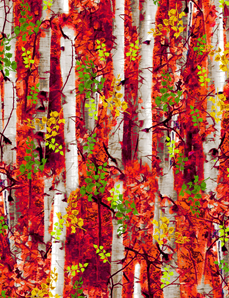 Electric Birch Trees Multi