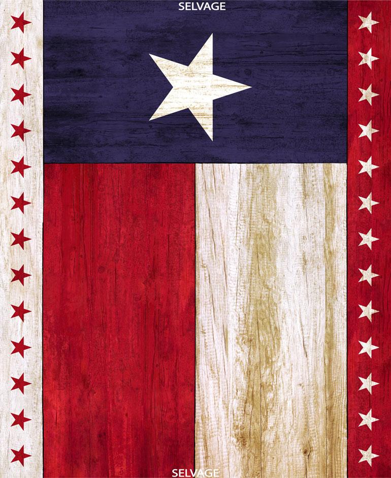 Texas Flag Panel-36