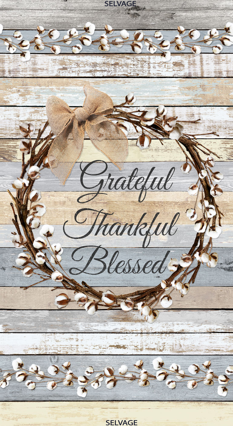24 Inch Grateful Panel
