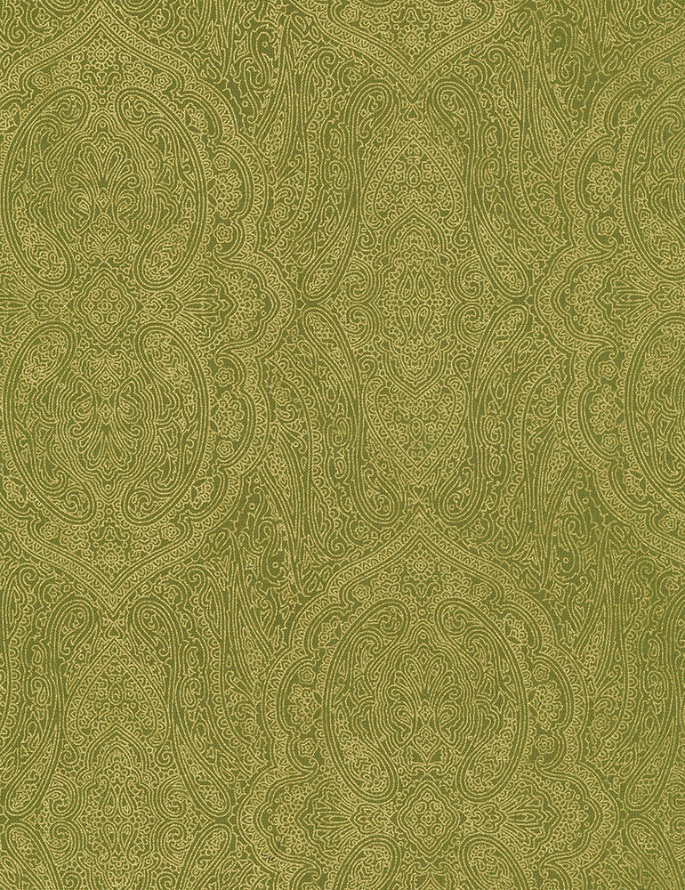 Fall Foliage CM7078/Olive Paisley Basic