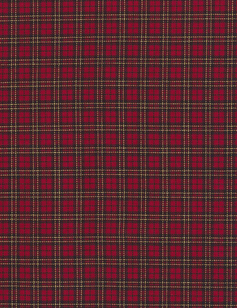 PRIMO PLAID FLANNEL R09U089-0111 RED PLAID