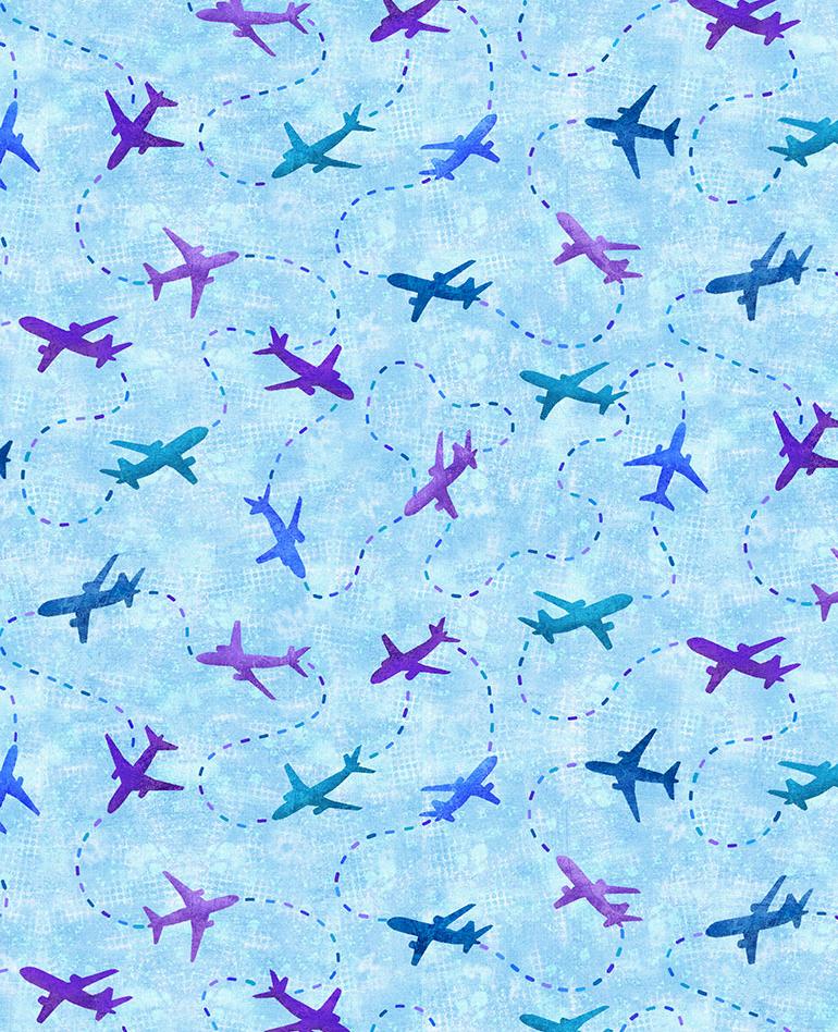 Cross Stitch Planes