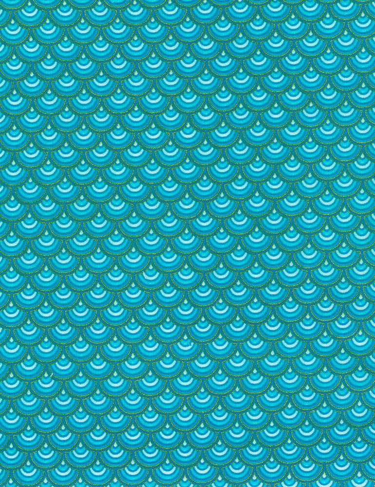 Regency - Elegant Scalloped Pattern
