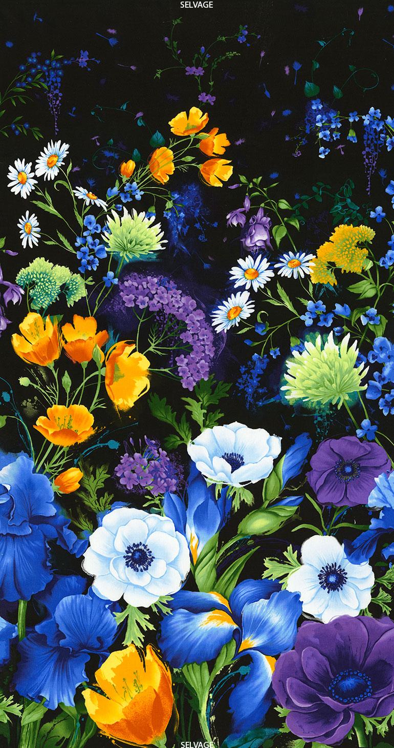 Reverie 24 Inch Flower Panel