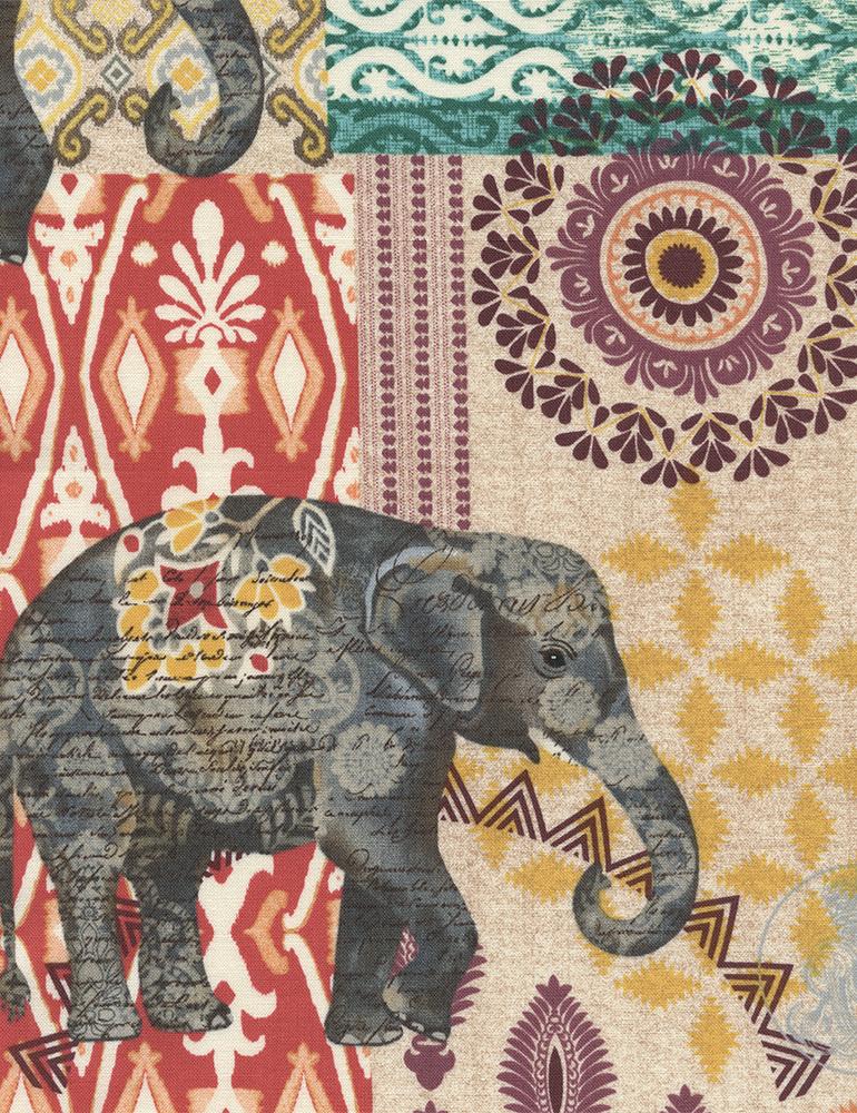 Elephant Caravan  - C4711 Multi