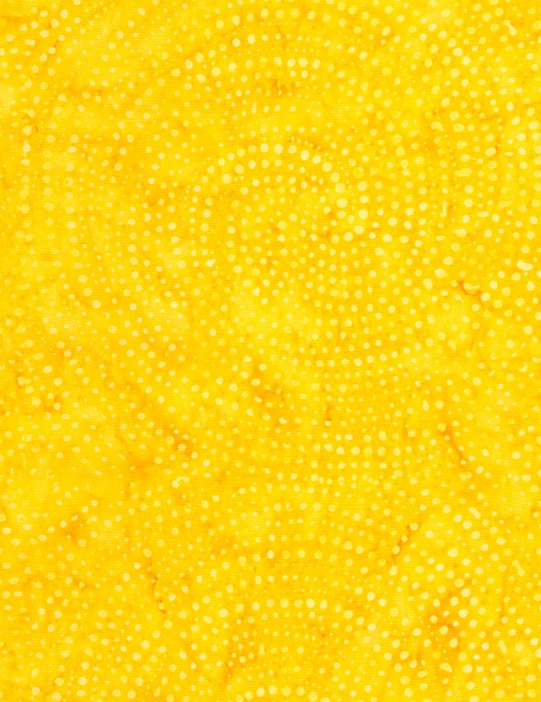 Dotty Spiral Batik-Mango