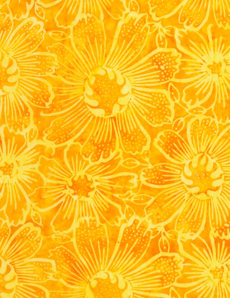 Gerber Daisy Lemon Tonga Batik (#7285)