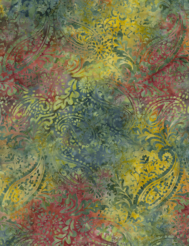 Botanical Paisley Batik