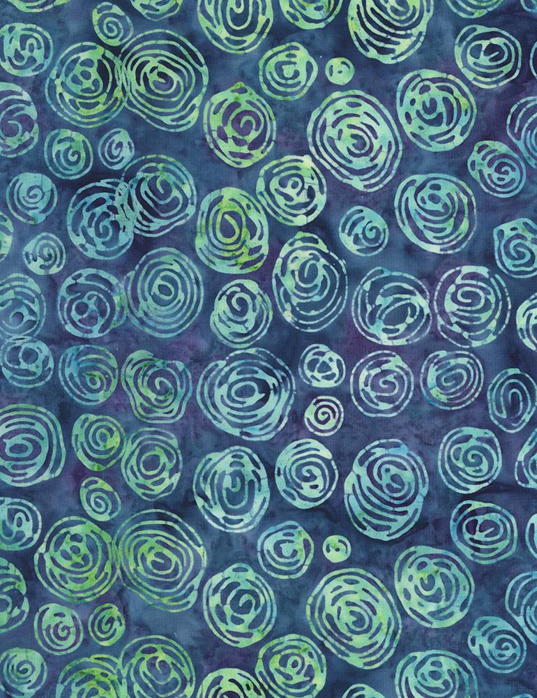 Timeless Treasures Tonga Mystical B5678 Dive Batik