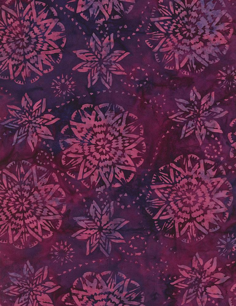 Dream BatikTimeless Treasures Tonga B6168 Berry
