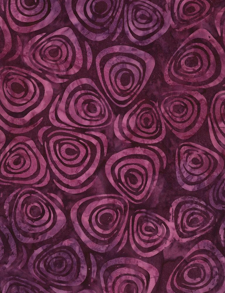 Swirls Batik B6194 Purple