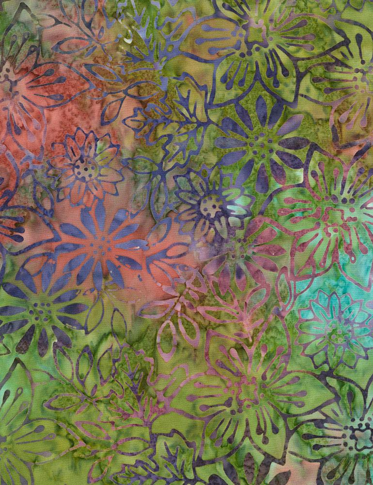 Fresh Flowers Batik B6208 Picnic