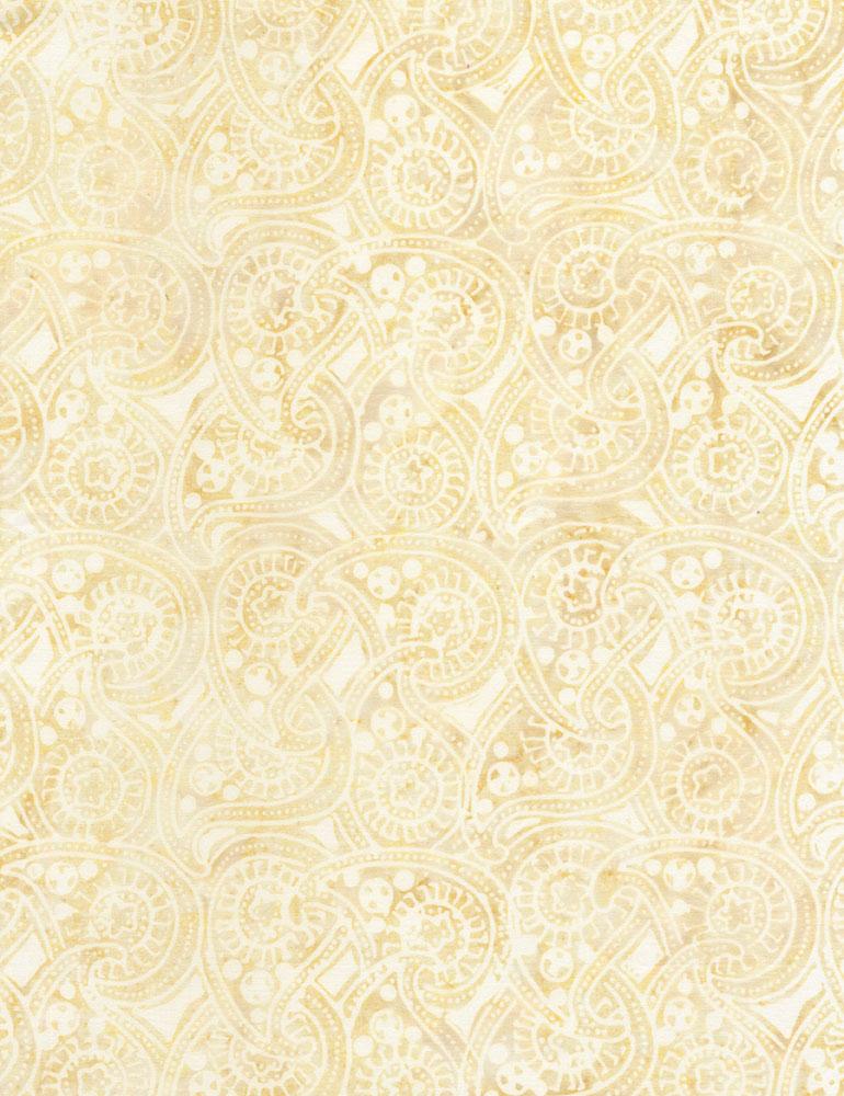 Circular Paisley Batik B6209 Antique