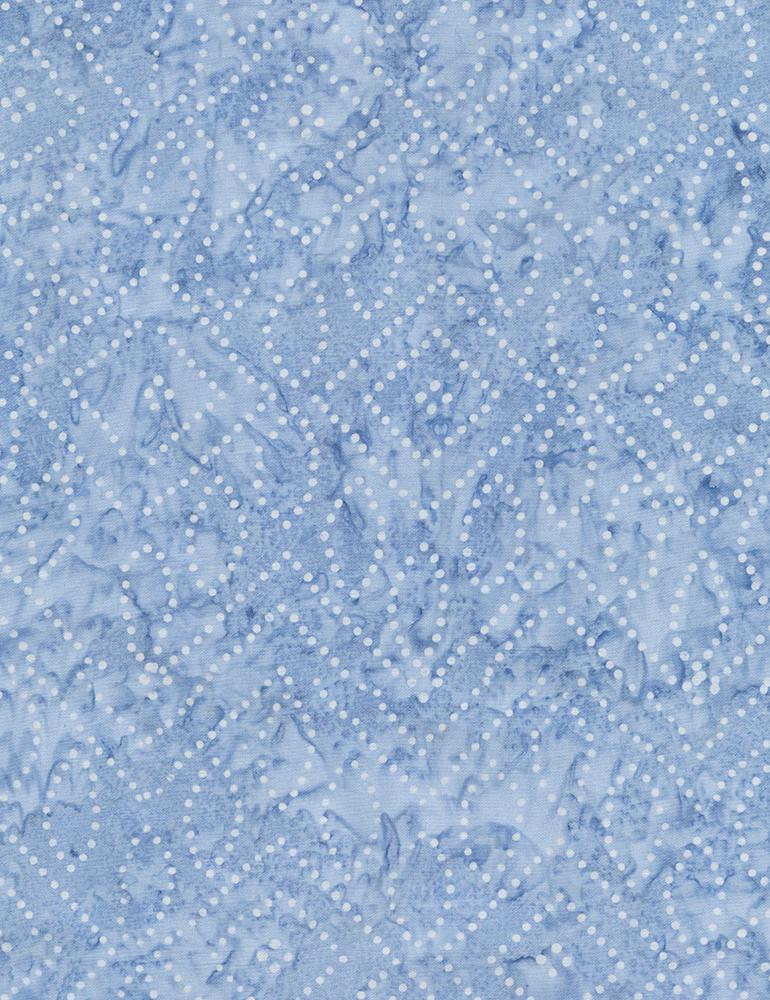 Fabric Batik Timeless Treasures Dot Art Laguna