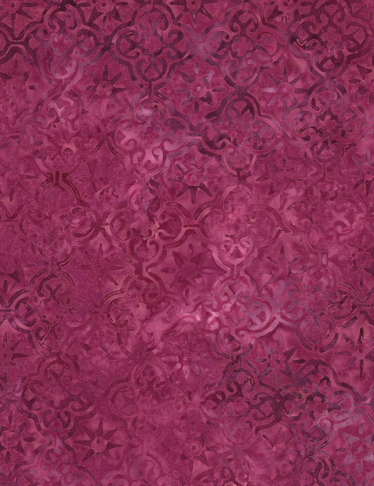 Geo Batik B6386 Magenta