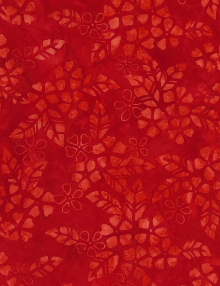 Bloom Batik Scarlet