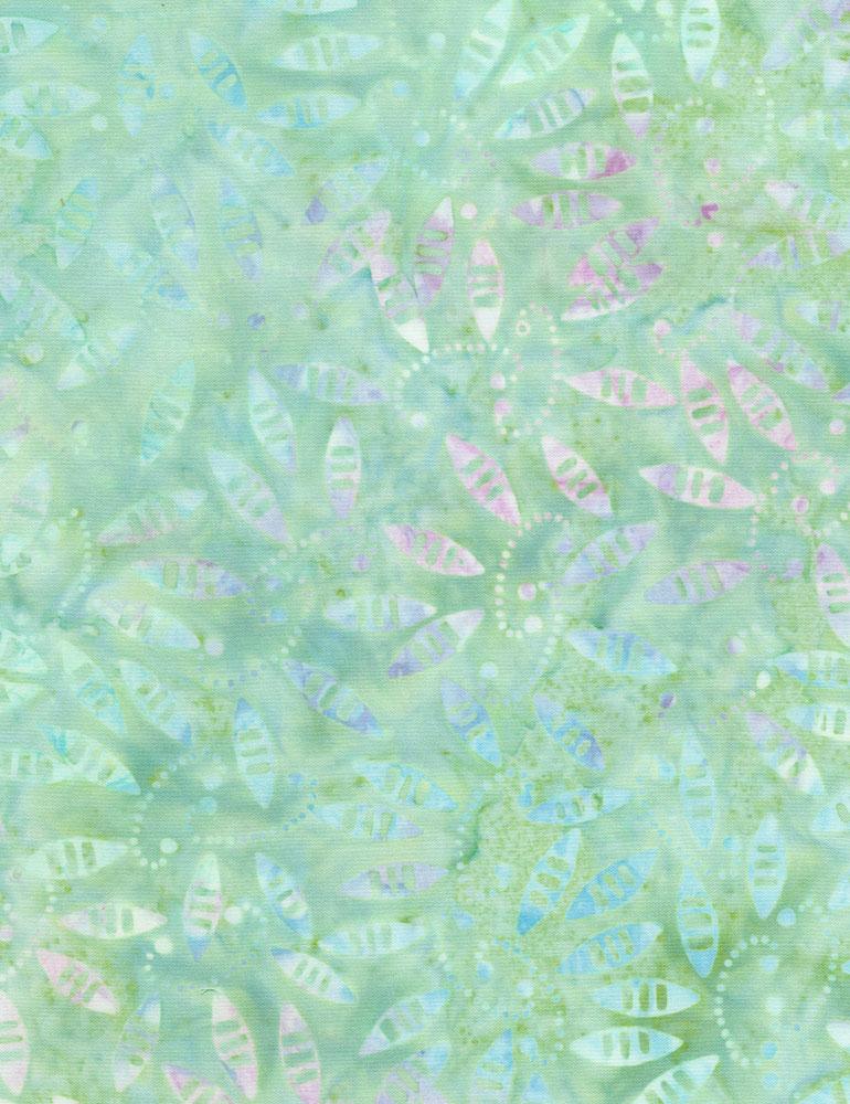 Amoeba Batik Mint
