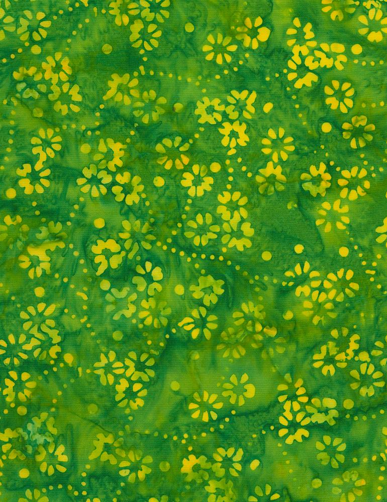 Delicate Flowers Batik