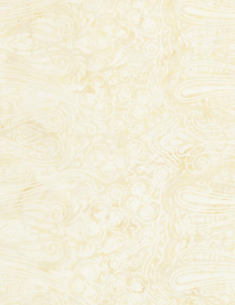 Fleur De Lis Batik Vanilla