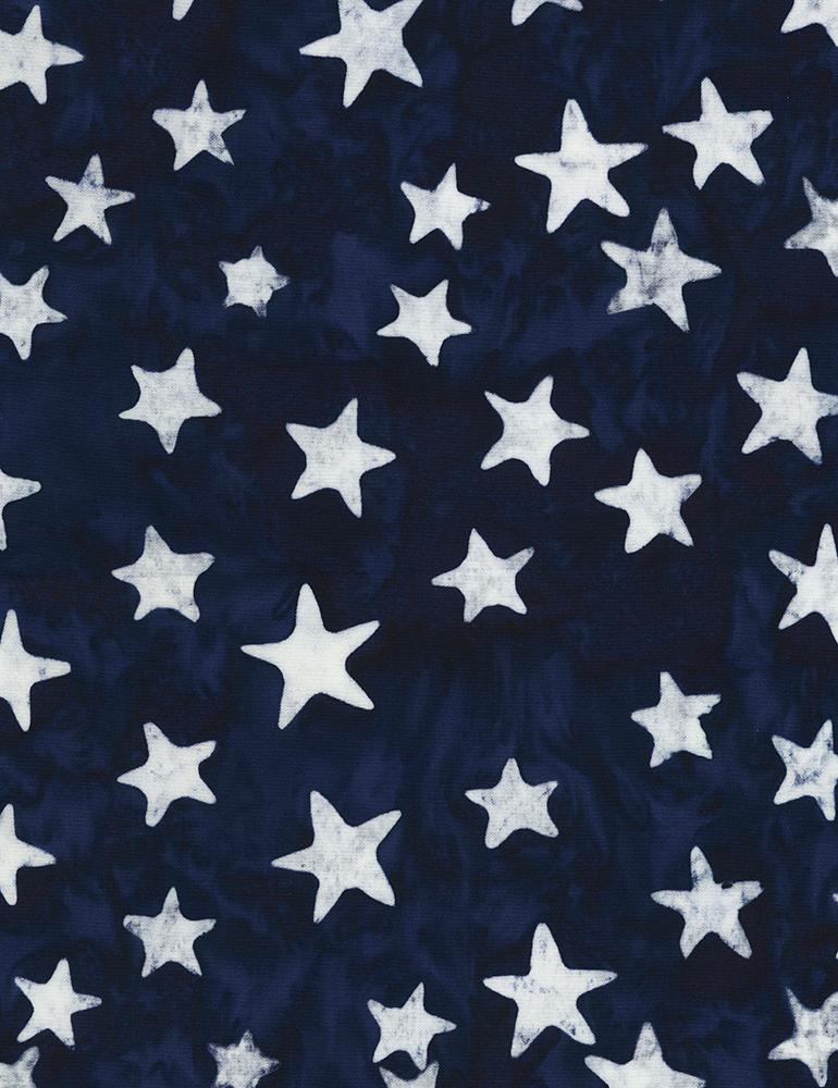 Tonga Batik Stars B6932 Blue