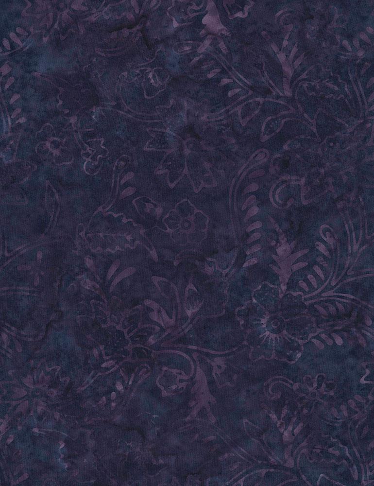 Timeless Treasures Deep in the Woods Batik Tonga-B7142-Hyacinth