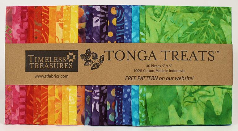 Tonga Treat Minis (5 Inch Squares)