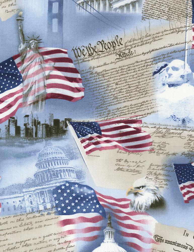 USA Patriotism C9505 Sky