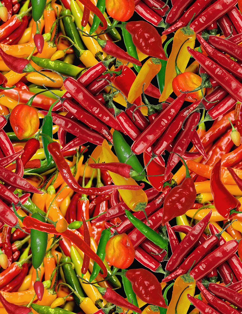 Hot Peppers packed