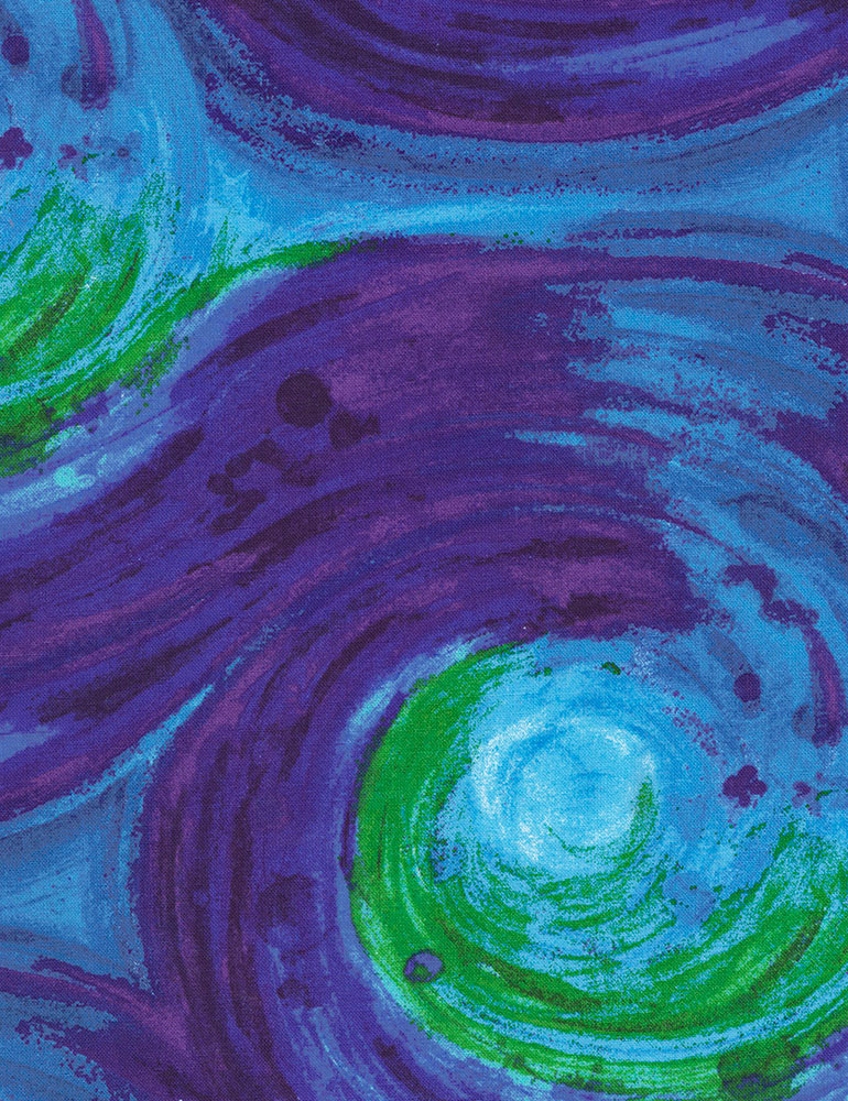 Painted Swirl 108 Inch Wide Back Fabric