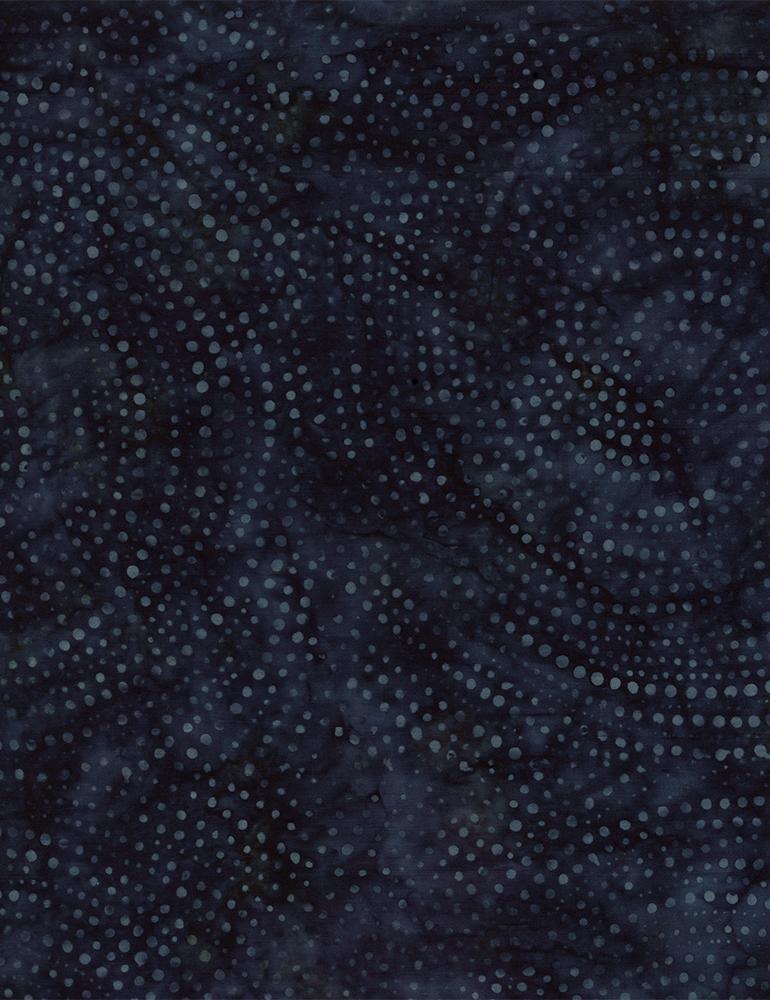 Dotty Spiral Batik 106 Wide Back - Cosmos