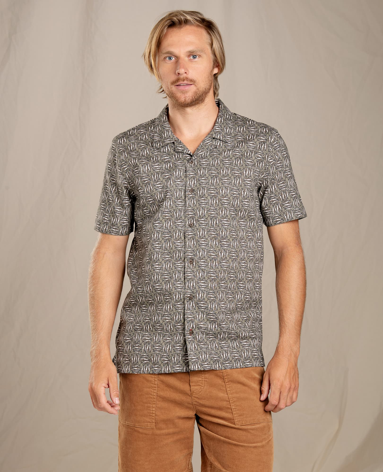 Toad & Co M's Harbour SS Shirt