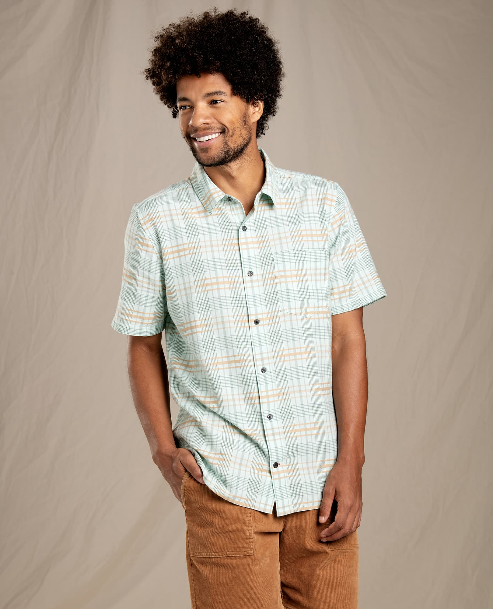 Toad & Co M's Airboat SS Shirt