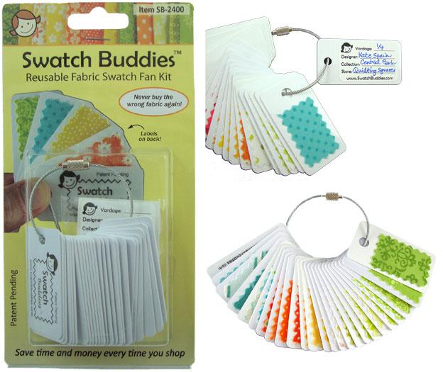 Swatch Buddies Fabric Fan 24ct