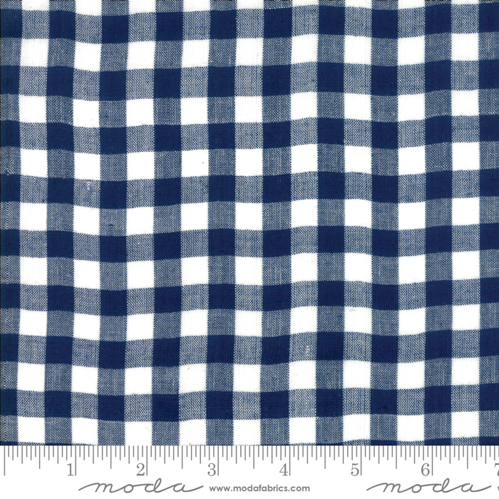 Bonnie Camille Woven Check Navy