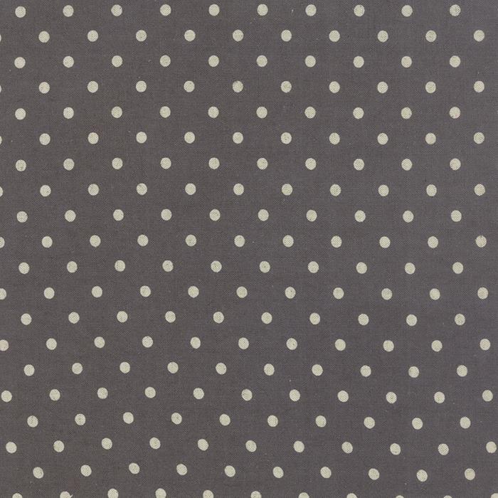 Linen Mochi Dot LEAD from Moda Fabrics