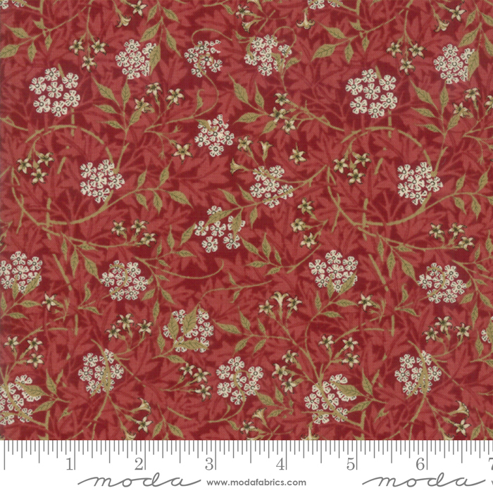 Morris Garden 7332-13 Crimson
