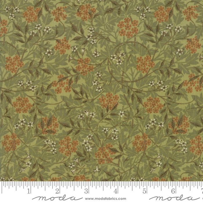 Moda - Morris Garden-Jasmine 1872/Sage - 7332 15