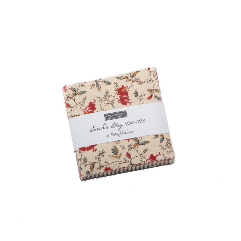 Fabric Precut - Sarahs Story Mini Charm - 31590MC