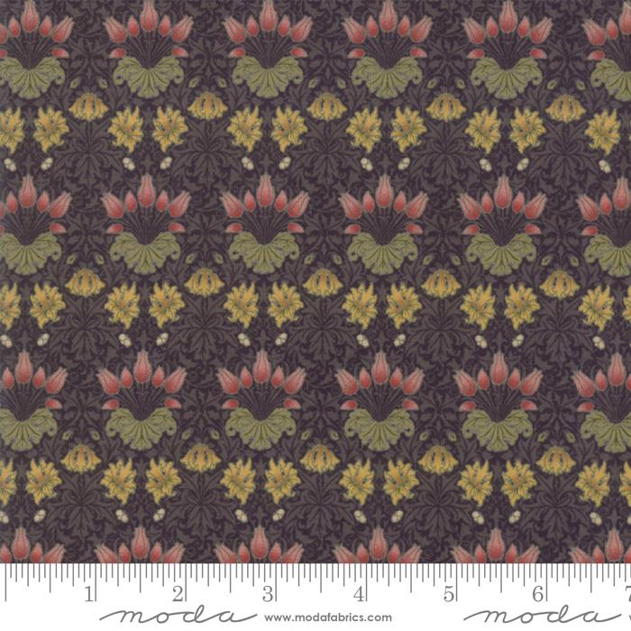 May Morris Studio Ebony - 7342-17 - Tulip 1900