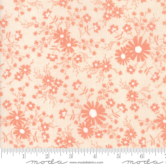Sunnyside Up Coral Meadow by Corey Yoder for Moda 29054-15