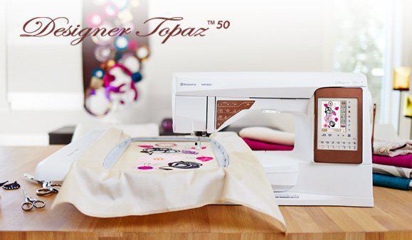 Designer Topaz 50 w/ embroidery unit - TI