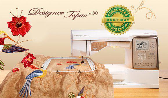 Husqvarna Viking Design Topaz 30 (trade-in)